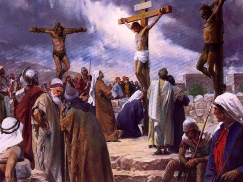 Image result for picture of Christ's crucifixion