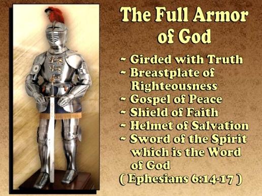 Image result for image God's spiritual armor