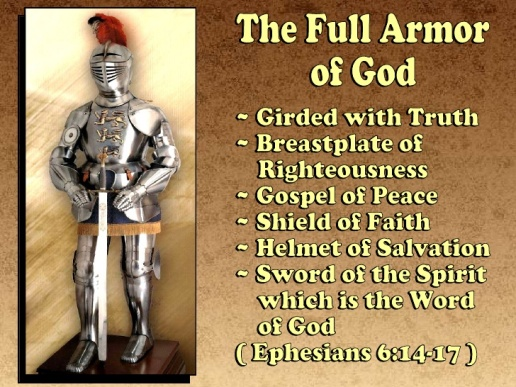 Image result for image God's spiritual armor