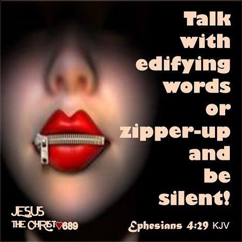 Image result for image speak words that edify