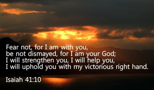 Daily Short Prayers: Isaiah 41:10