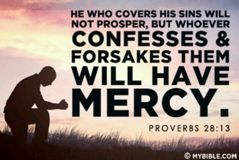 Proverbs 28:13 Are You Covering Or Confessing Your Sins? — Tell the Lord  Thank You